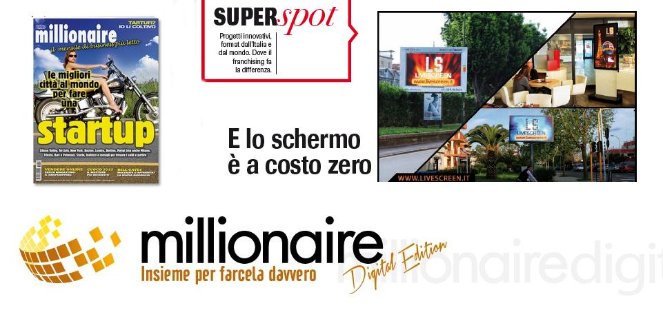 SpotLiveScreen su Millionaire