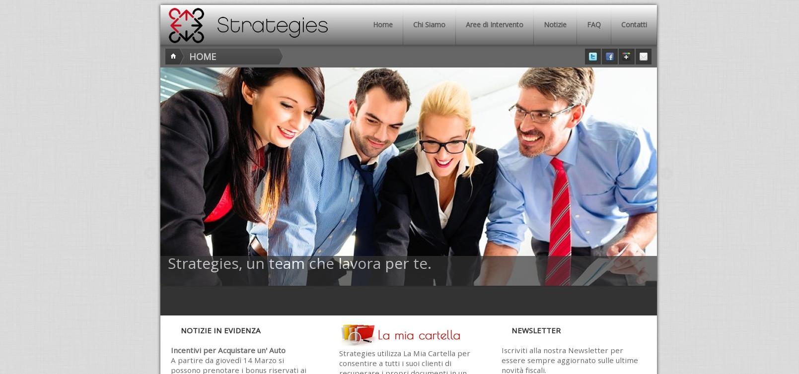 Strategies, Consulenza aziendale, fiscale e tributaria