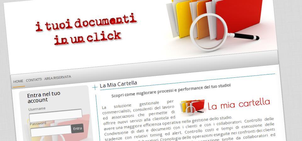 """il software """"la mia cartella"""" selezionato a smau 2013 e' ora online"""