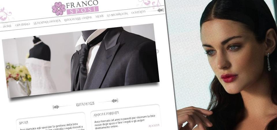 Lista Nozze Online per Franco Sposi