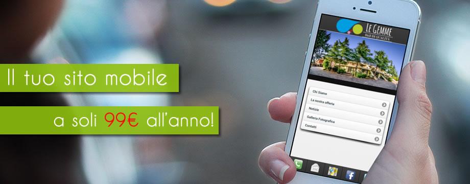 01Mobile il tuo sito mobile a 99,00 euro