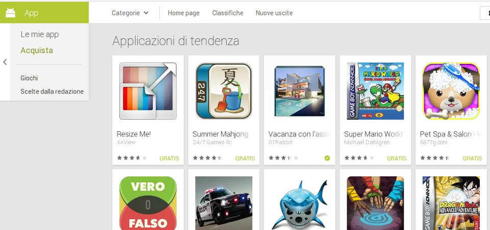 I successi dell'App Vacanza con l'assassino