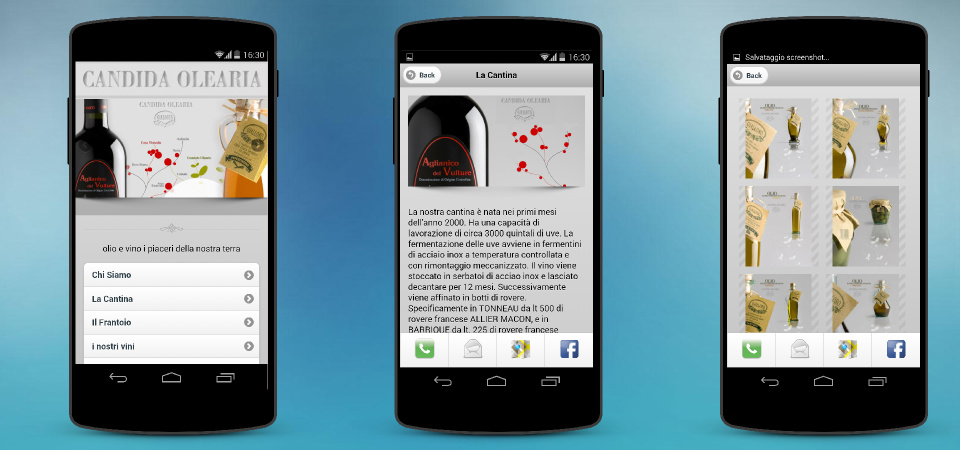 Versione mobile per oliogialloro.it