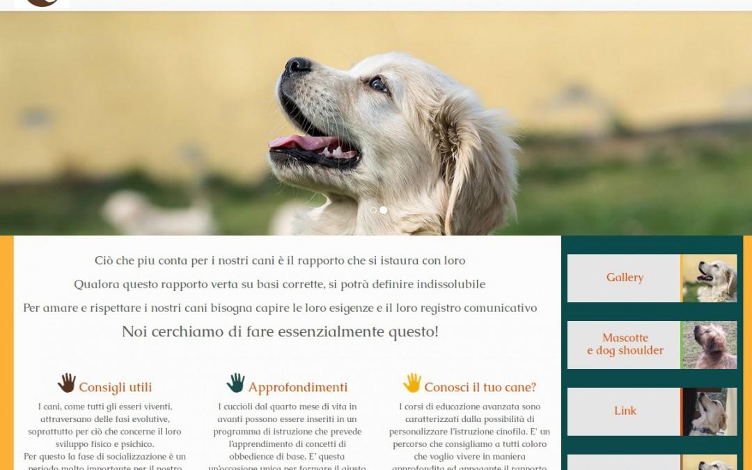 online il sito web del centro cinofilo A-team System