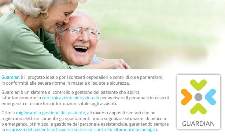 Guardian, Indoor Positioning System al centro Alzheimer di Venosa