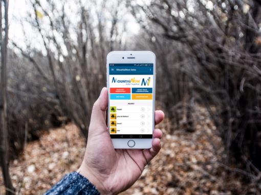 MountaiNow app android e ios