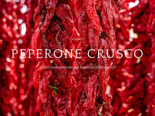 Nuovo sito dedicato al Peperone Crusco IGP